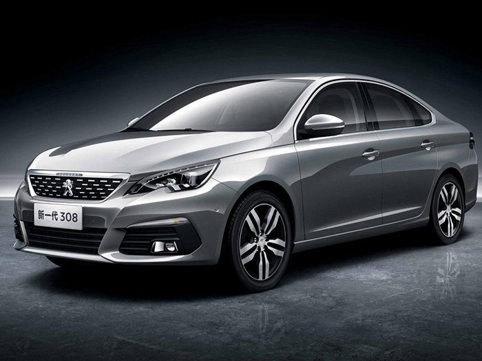 Peugeot продемонстрировал внешний вид 308 для Китая