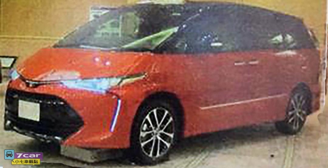 В Тайване рассекретили внешность обновленной Toyota Estima