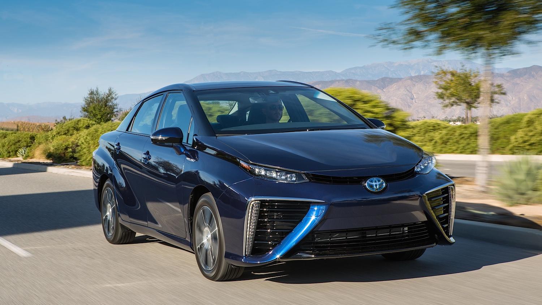 Toyota выпустит новый Mirai