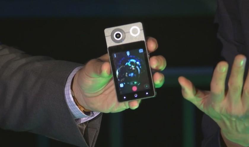 VR-камера Acer Holo 360 может звонить иснимать сферическое видео