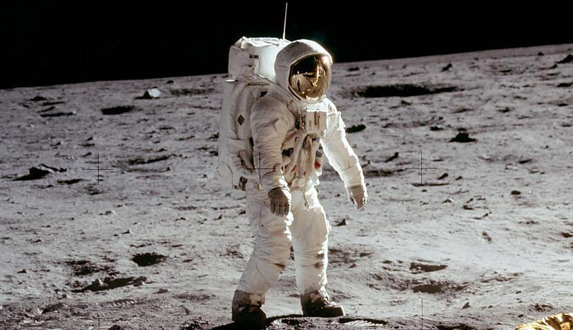 Установлены следы пребывания НЛО на Луне