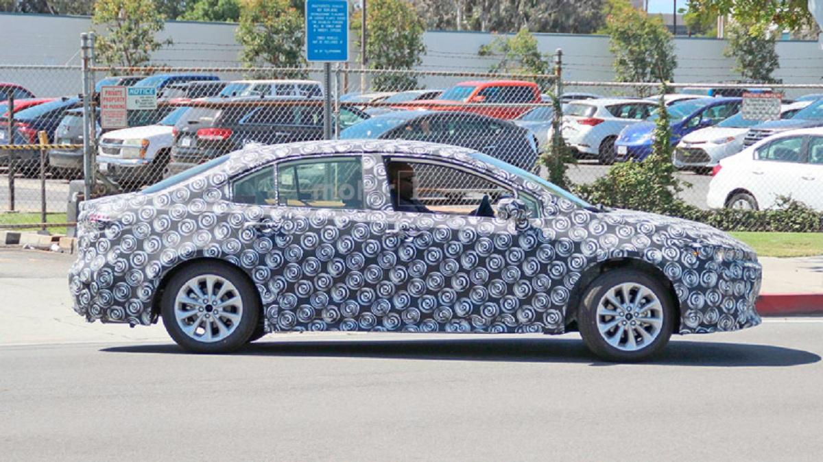Новый седан Тоёта Corolla готовится кзапуску впроизводство