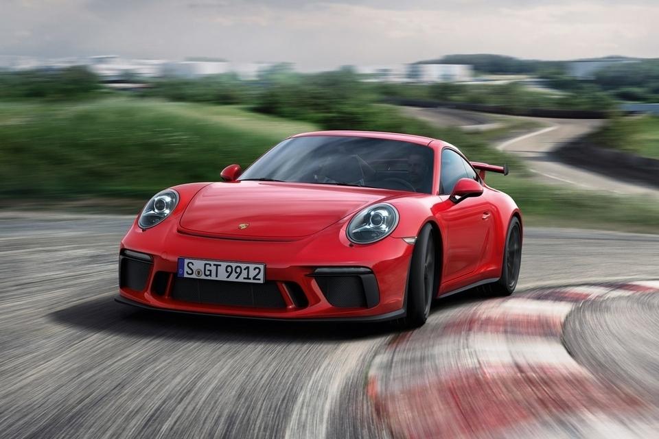 Новый Порш 911 GT3 наНюрбургринге улучшил собственный рекорд скорости