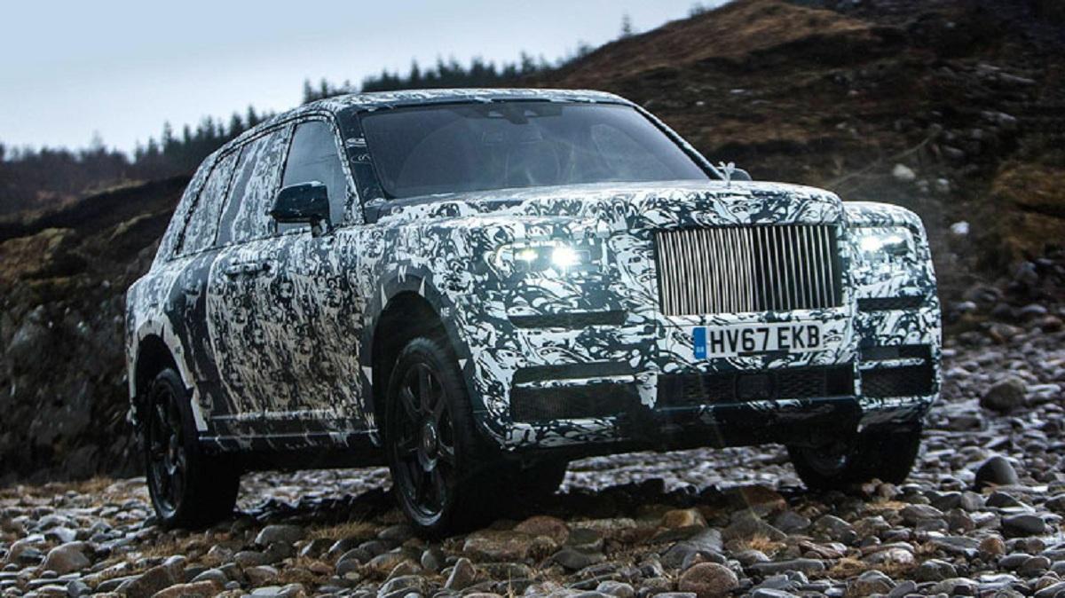 Первый внедорожник компании Rolls Royce будет презентован 10 мая