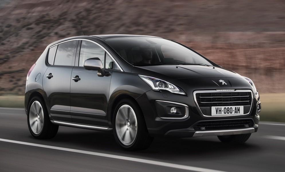 Новый Peugeot 3008 замечен очевидцами