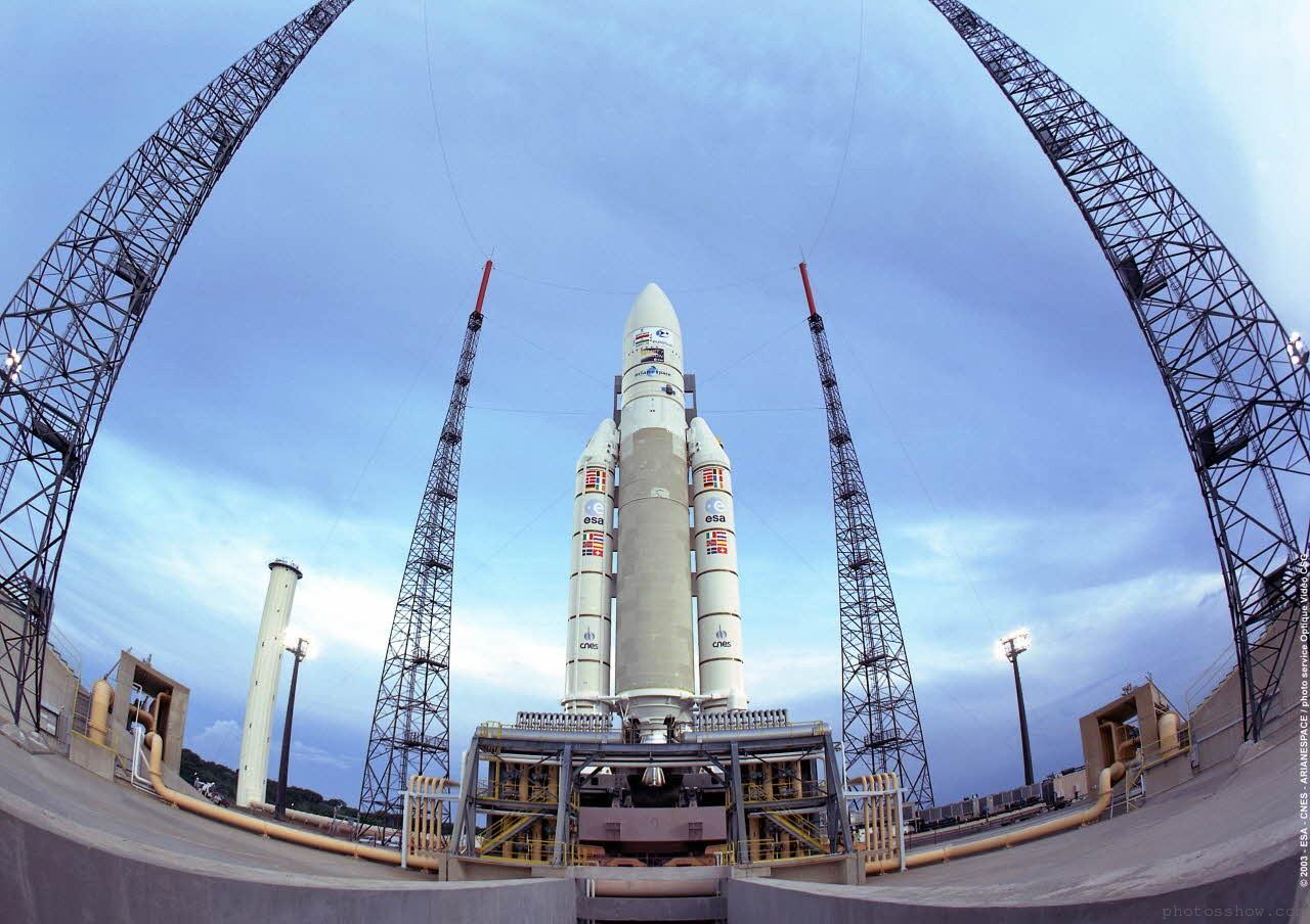 Ракета Ariane 5 благополучно стартовала скосмодрома Куру