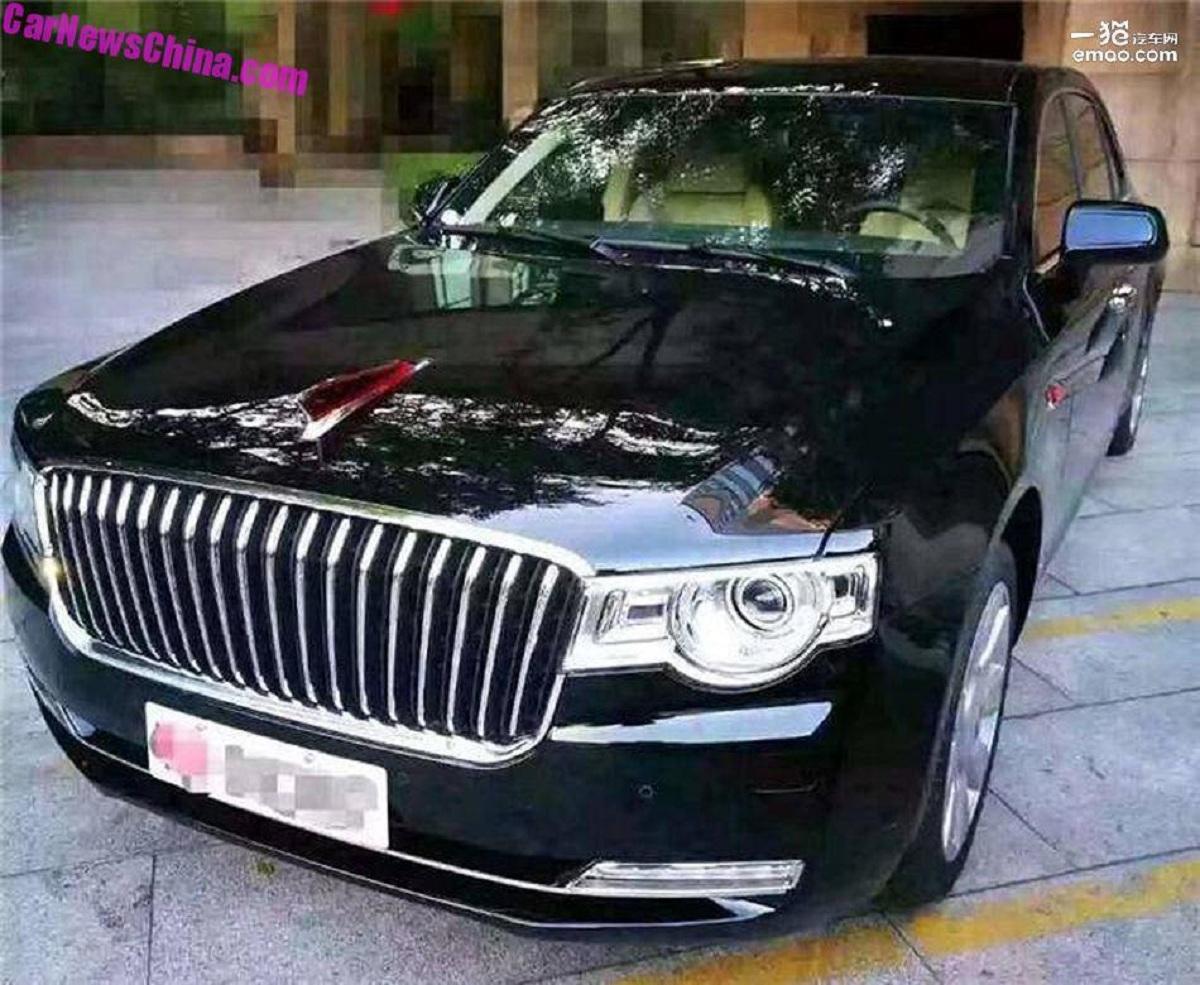 Китайский Hongqi готовится создать конкурента BMW 5 и Audi A6