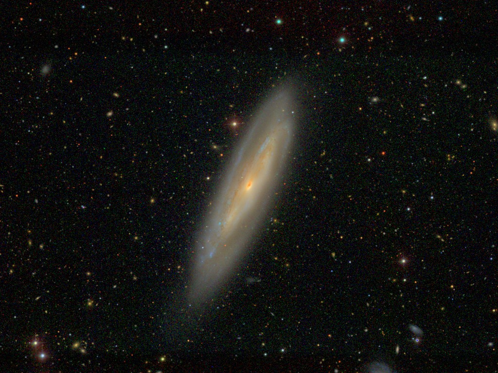 Астрономы попадают вприроду галактик, напоминающих арахис вскорлупе
