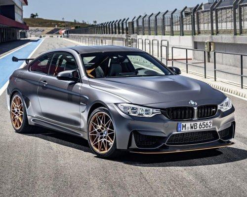 Озвучены страны где появится лимитированное купе BMW M4 GTS