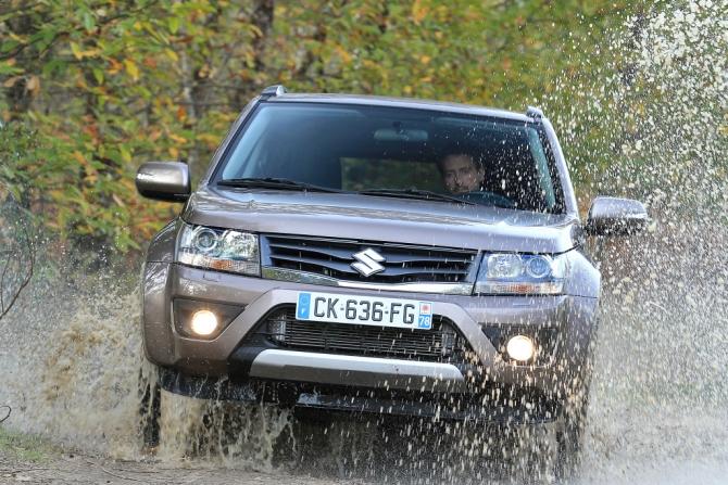 Suzuki может возобновить поставки Grand Vitara в Россию