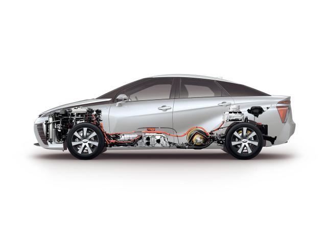 Тойота работает над неменее доступной водородной моделью