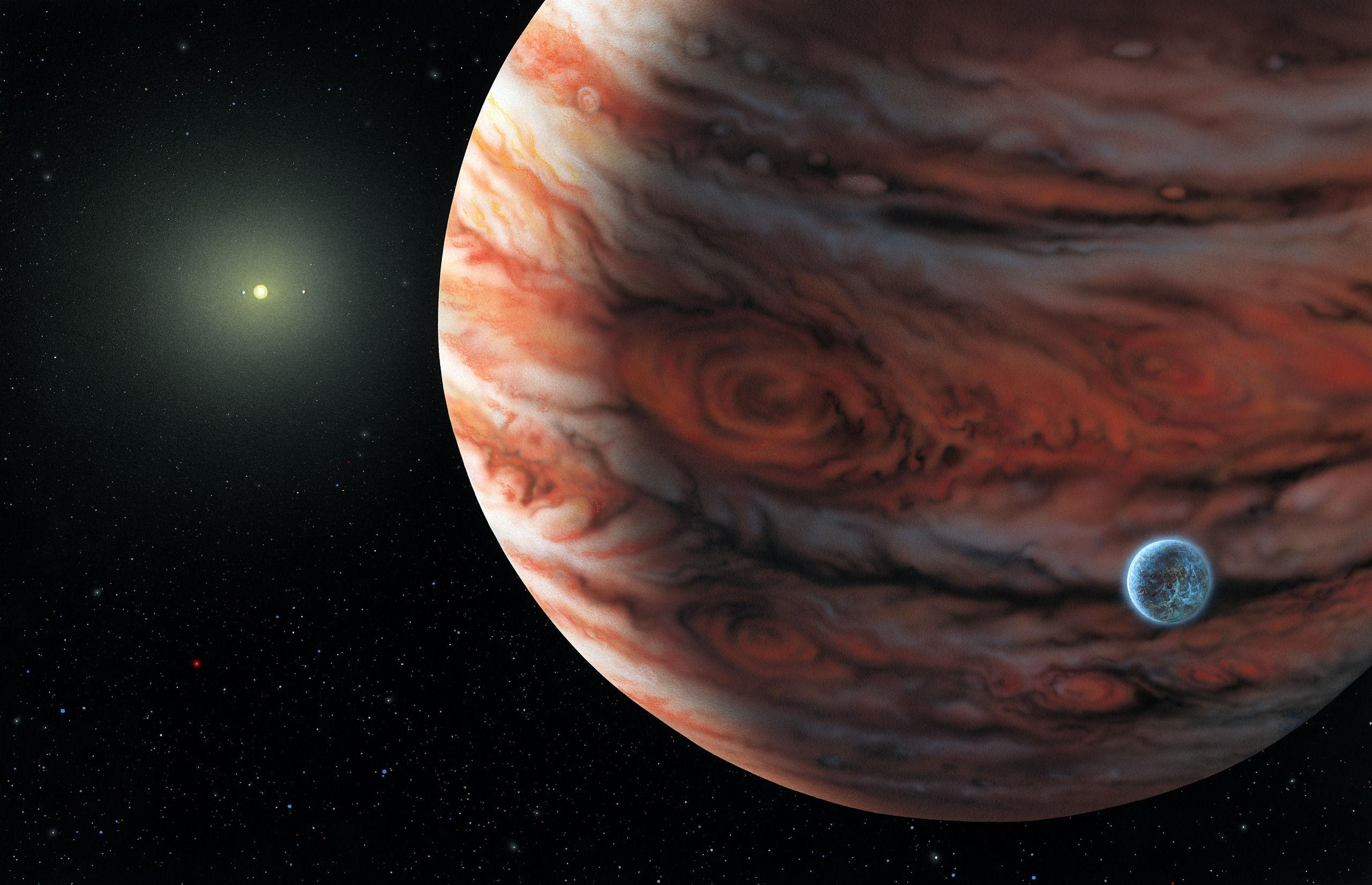 Ученые: Радиоволны Юпитера создают помехи наЗемле