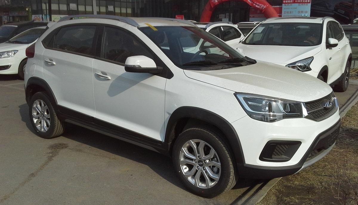 В апреле в России продажи автомобилей Chery