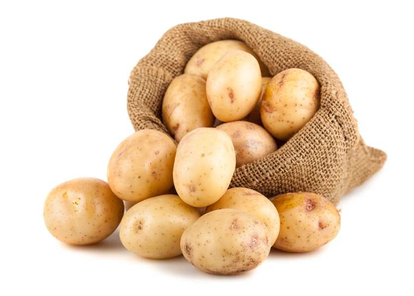 Картофель в ежедневном рационе не способствует набору лишнего веса
