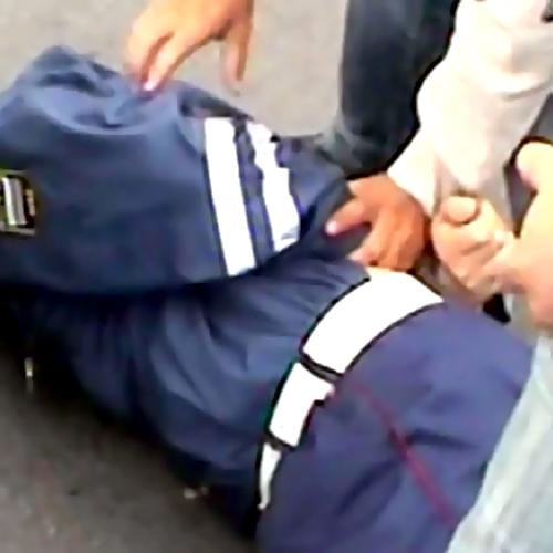 ВУфе наглазах упрохожих завзятку задержали инспектора ДПС