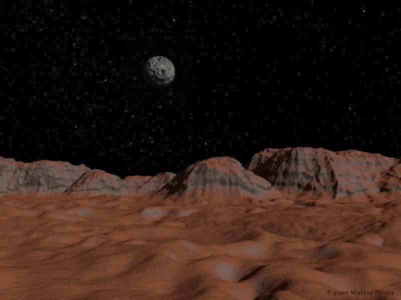 Наспутнике Плутона есть ледяные вулканы
