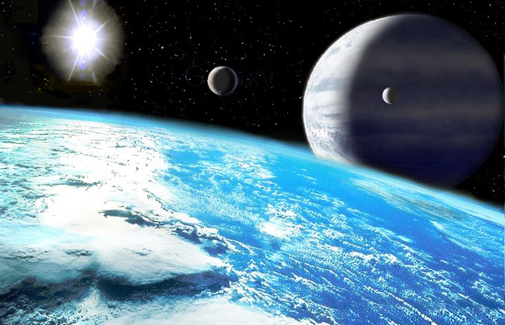 Ученые обнаружили две огромные планеты вне Солнечной системы