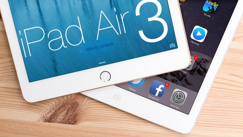 Apple iPad Air 3: неменее легкий корпус ицена
