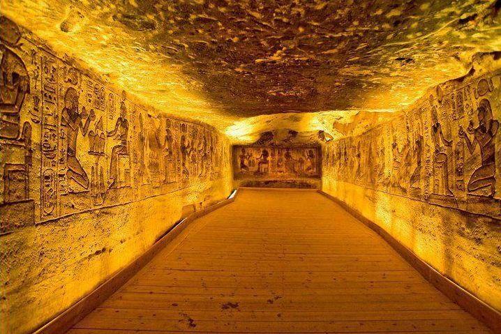ВЕгипте археологи обнаружили гробницу принцессы издинастии фараонов
