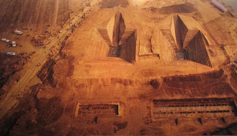 Древнее захоронение возрастом неменее  1,4 тысячи лет найдено вКитайской республике