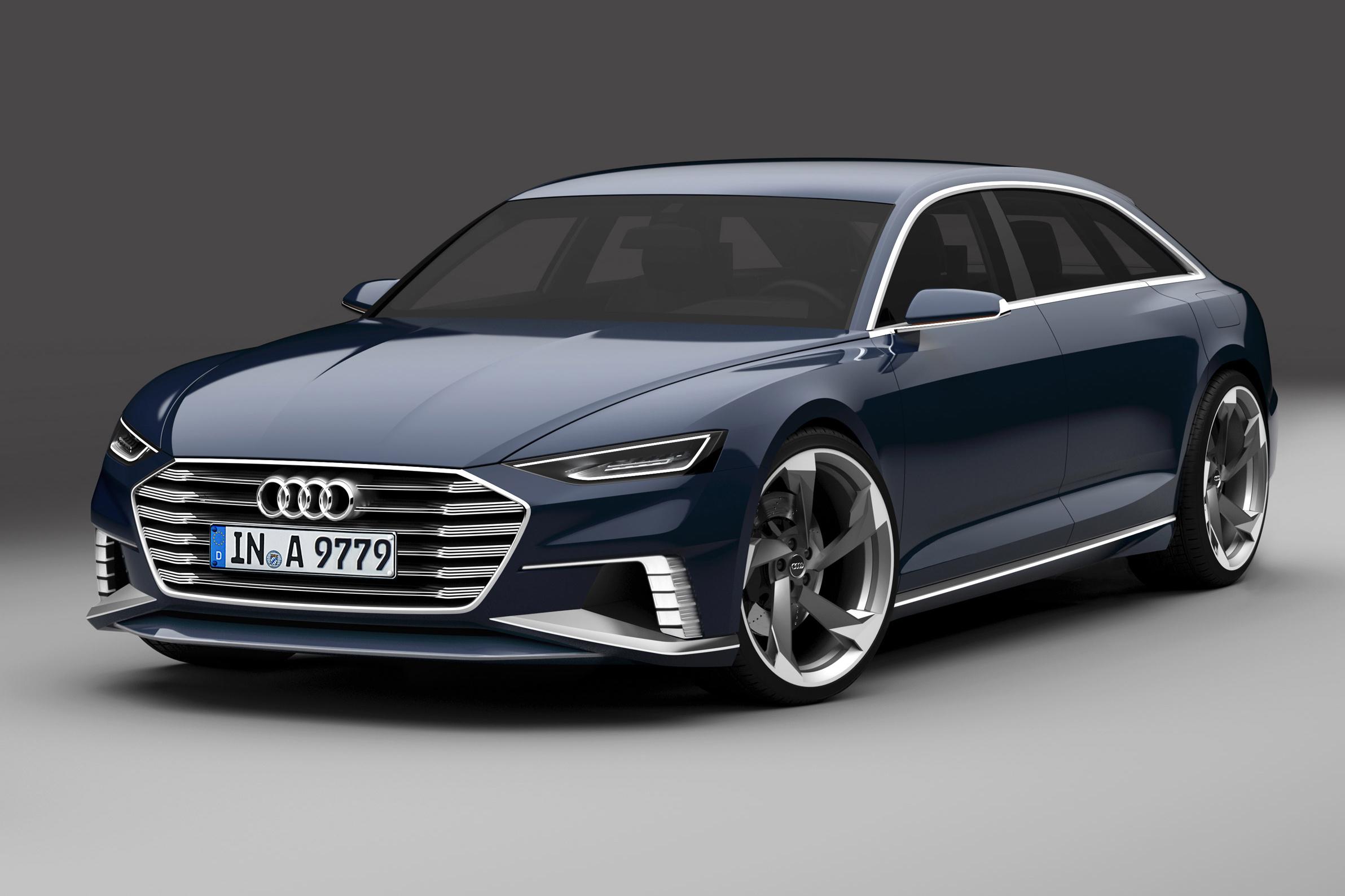 Audi A8 2018 впервые замечен в серийном кузове