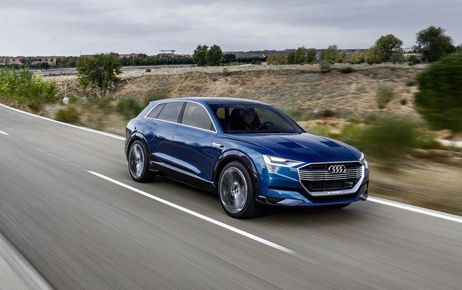Новая Audi составит конкуренцию Tesla Model X