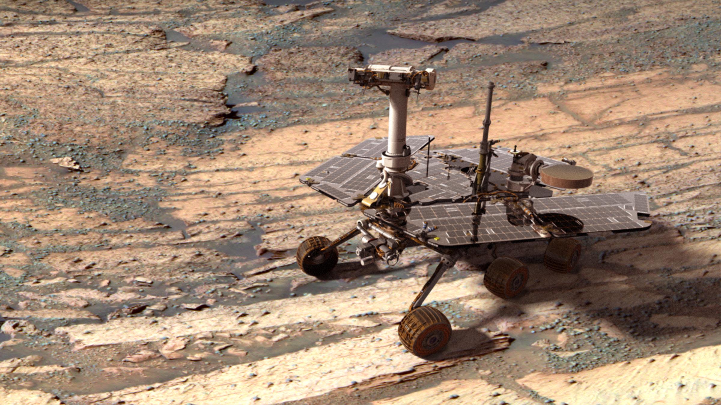 Марсоход Opportunity будет изучать Долину Настойчивости наМарсе