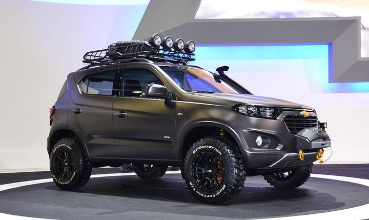 Улучшенный вседорожный автомобиль Шевроле Niva будет стоить около 700-800 тыс. руб.