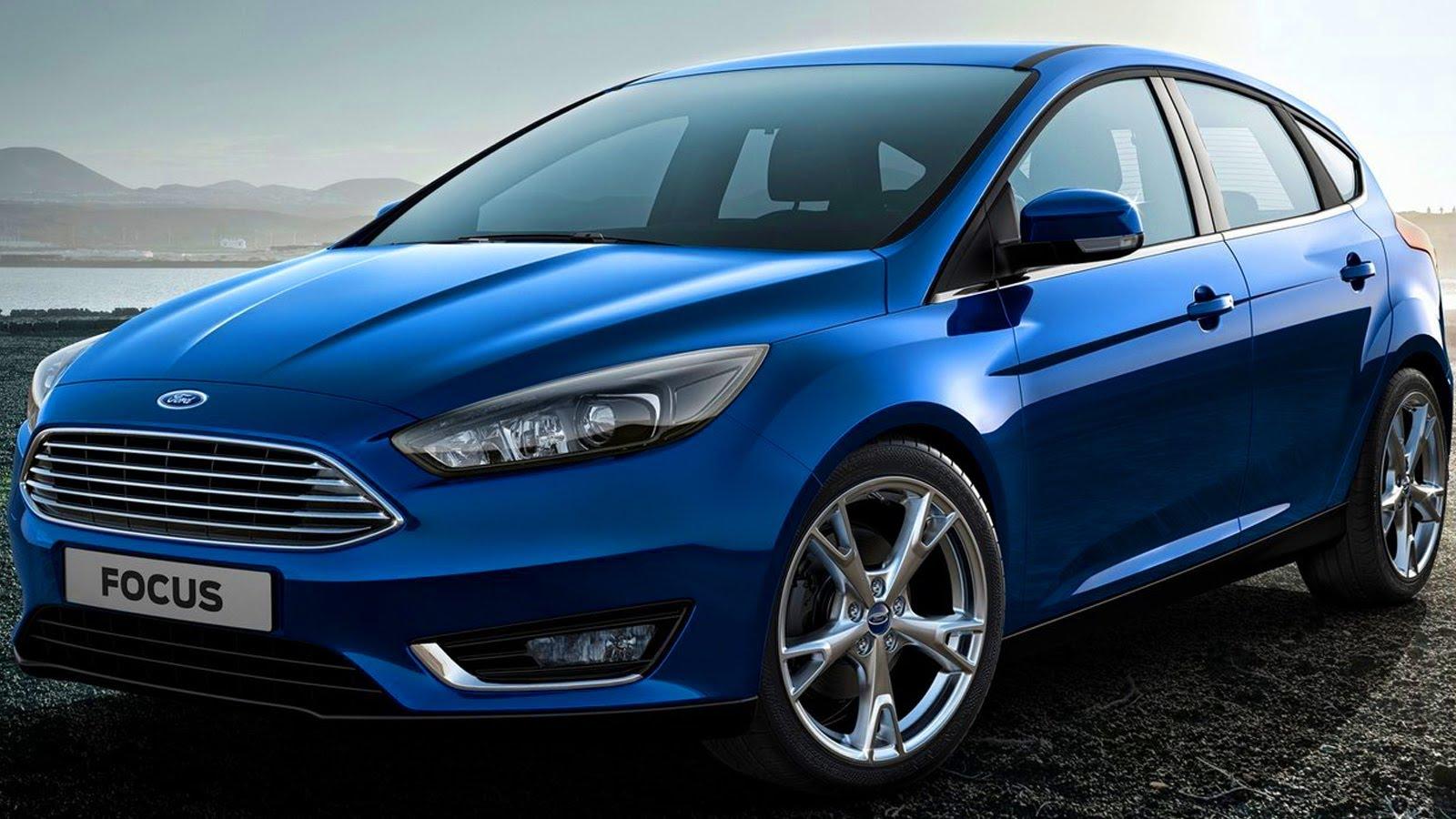Обновленный Ford Focus получил детали от Mondeo