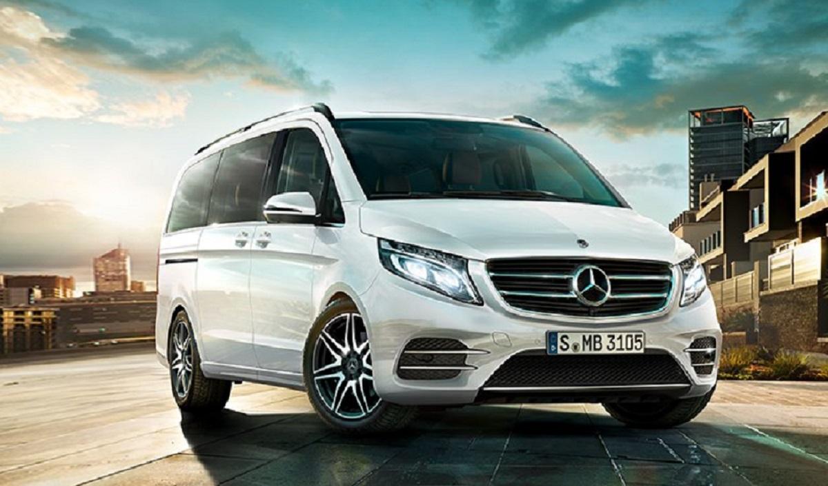 Benz V-class Night Edition уже в Российской Федерации