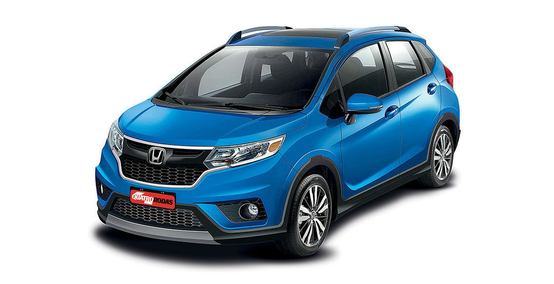 Опубликован новый рендер Honda WR-V