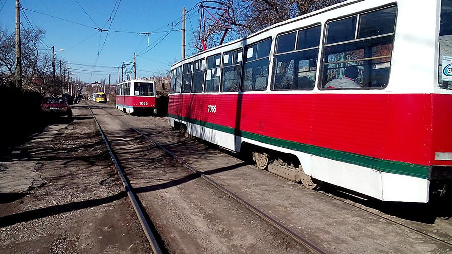 ВКазани 86-летняя женщина угодила под трамвай