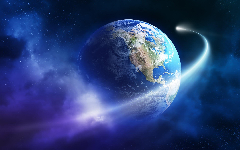Космос мог сломать Землю напервых этапах еесуществования— Ученые