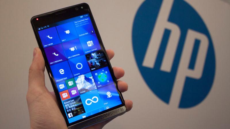 HPElite x3 наWindows 10 Mobile засветился всеребристом цвете