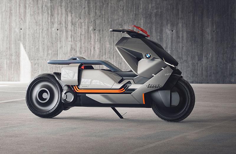 БМВ представила скутер будущего