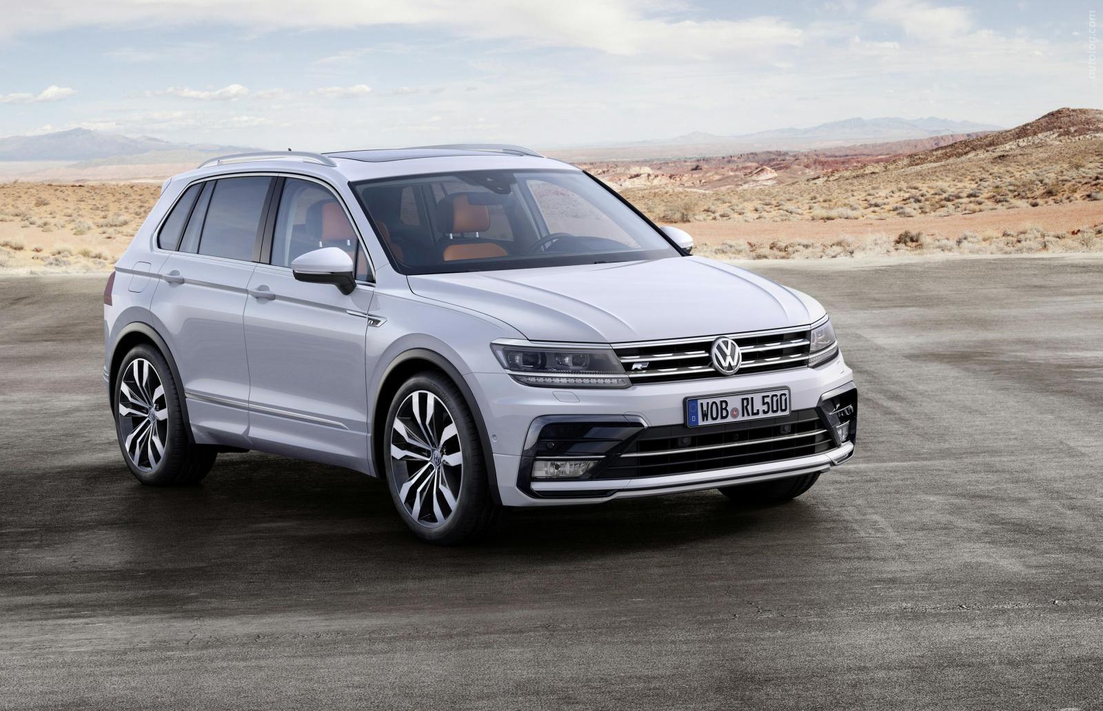 Украинцы начинают заказывать новый Volkswagen Tiguan