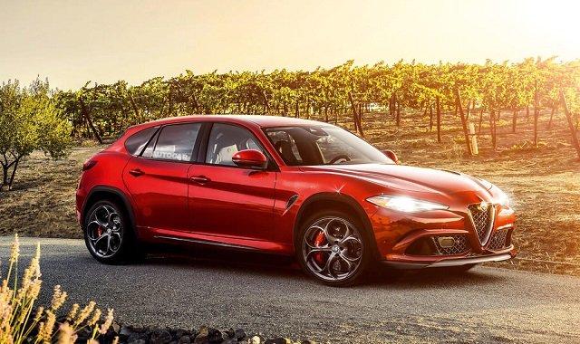 Новый Alfa Romeo Stelvio будет похож на Porsche Macan