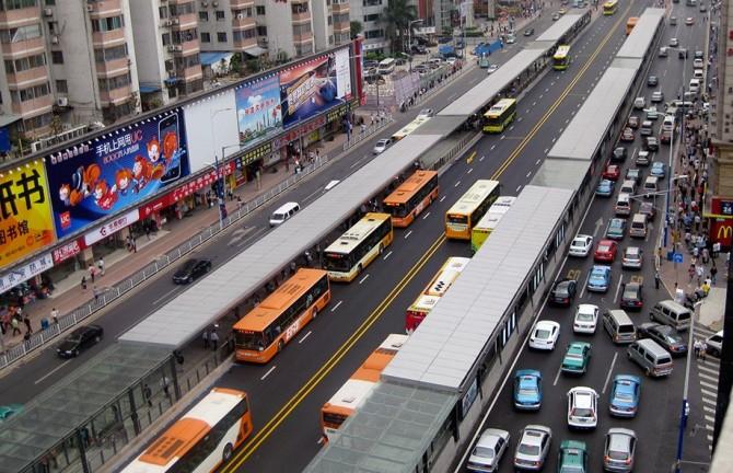 К 2020г электробусы поменяют традиционный транспорт вГуанчжоу