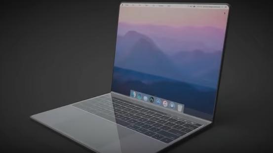 Дизайнер продемонстрировал, как будет выглядеть MacBook ссенсорным экраном