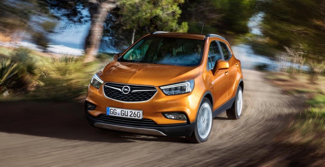 Обновленный кроссовер Opel Mokka Х выходит на рынок Европы