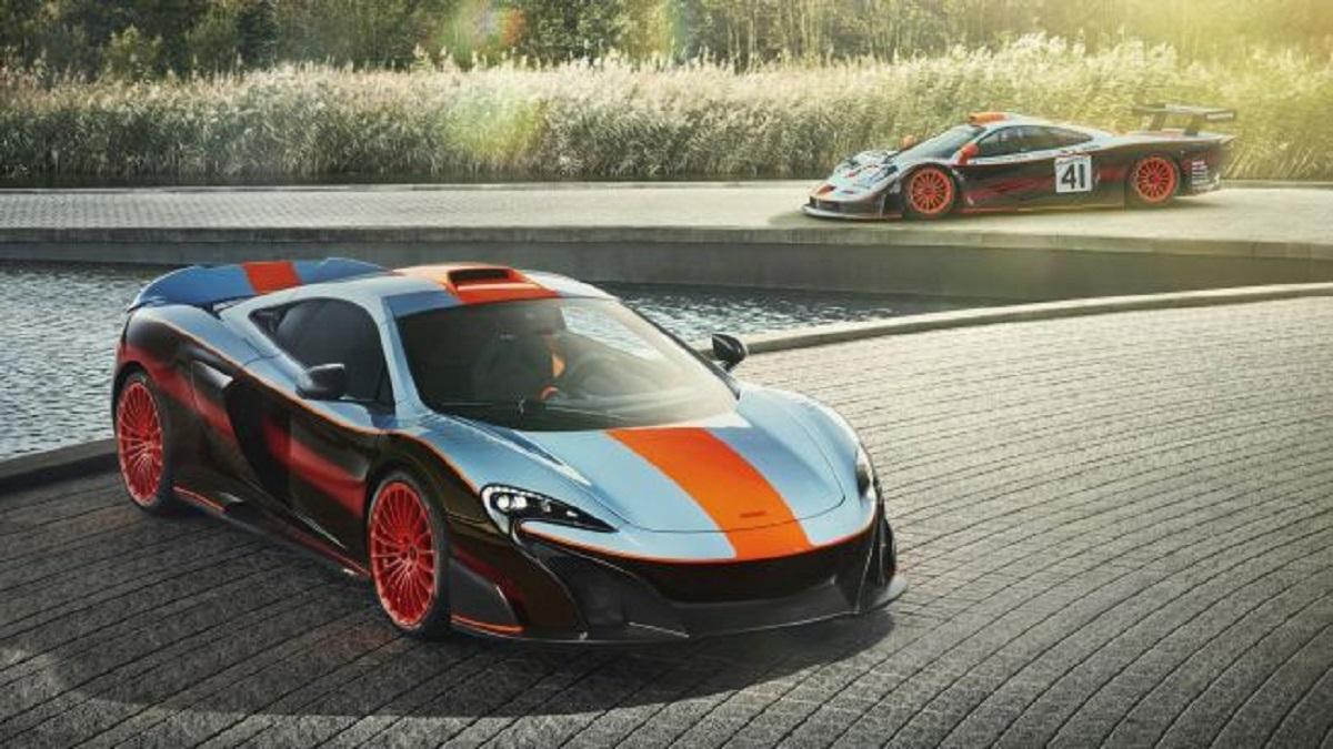 McLaren 675LT раскрасили в цвета Gulf