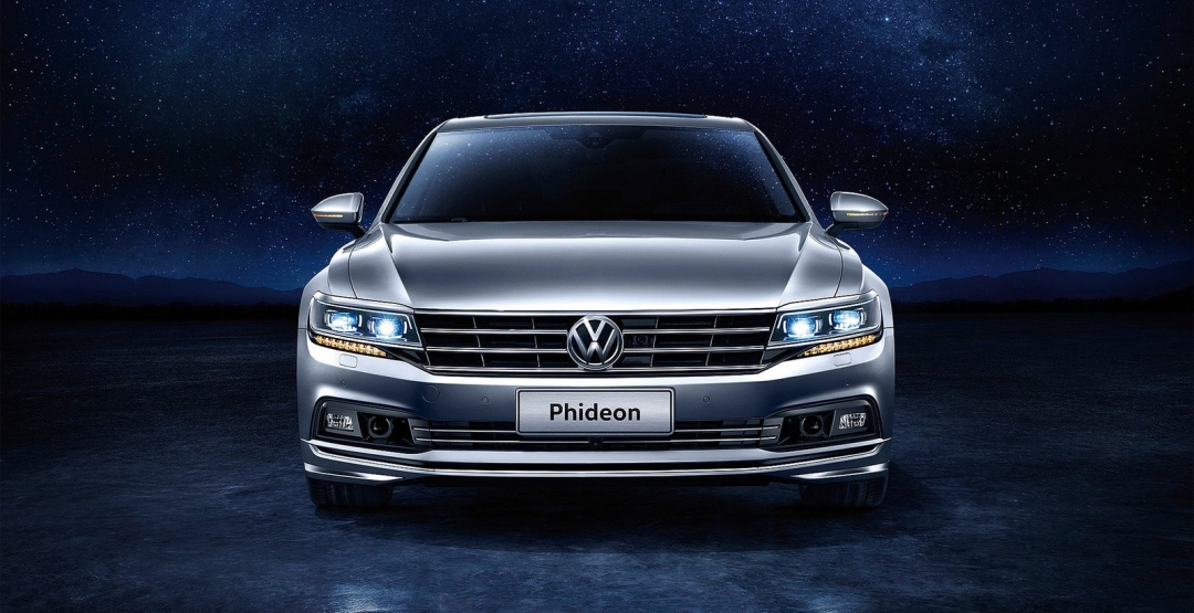 VW готовится кстарту официальных продаж нового седана Phideon