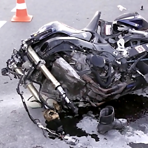 ВНижнем Новгороде мотоциклист умер при столкновении савтомобилем