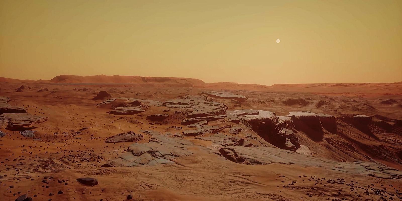 Спутник HiRISE сфотографировал наМарсе огромную дыру