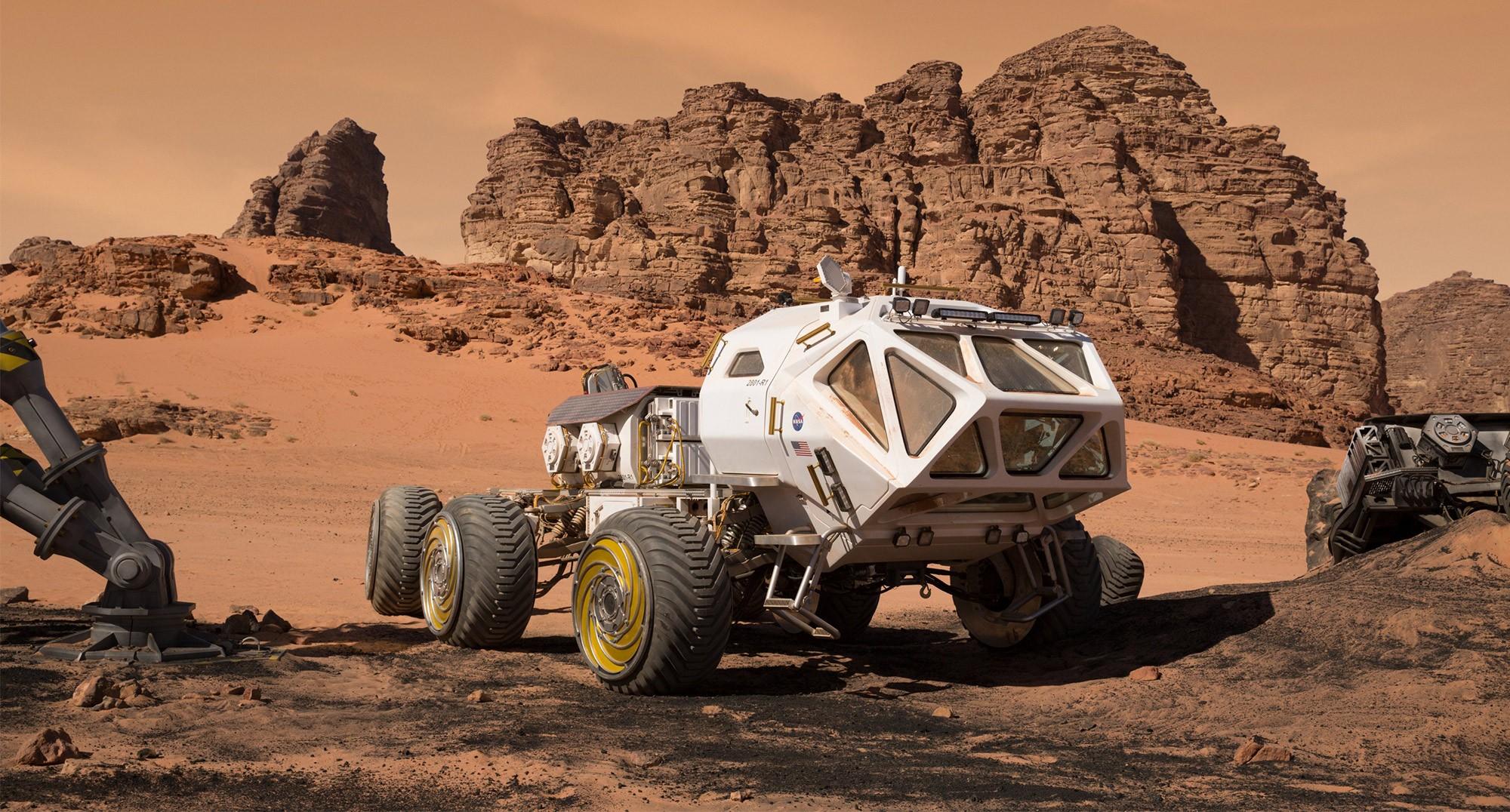NASA презентует новое поколение марсоходов