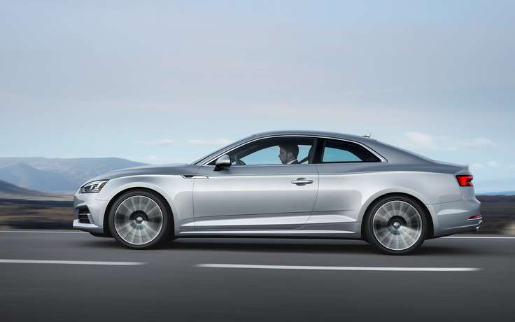 Новый Audi A5 Coupe в России появится осенью
