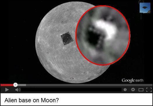СМИ Рассекречена база инопланетян на Луне