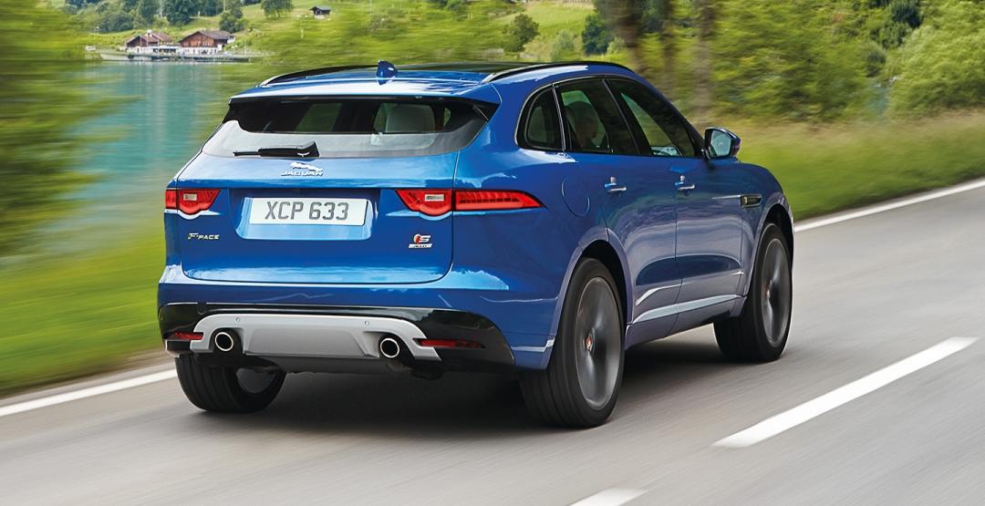 Глобальные продажи Jaguar Land Rover выросли в мае благодаря кроссоверу F-Pace