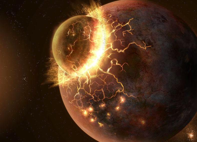 Миллиарды лет тому назад у Земли было два спутника