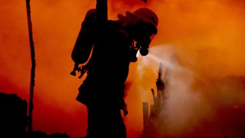 При пожаре вРостовской области живьем сгорел человек